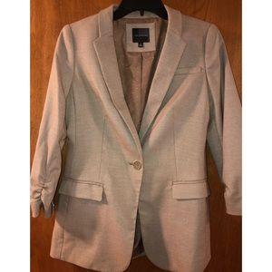 The Limited - Brown and white speckled blazer